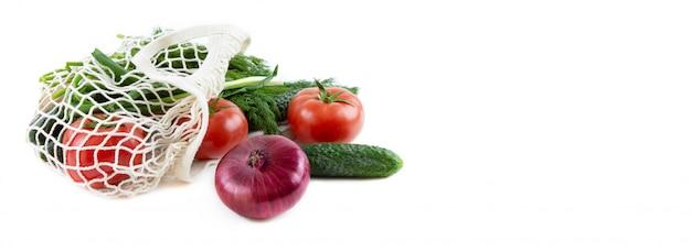 Netzak met groenten