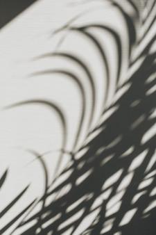 Neutrale bloemensamenstelling met tropisch palmtaksilhouet