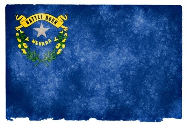 Nevada grunge vlag