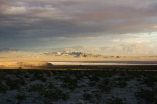 Nevada-woestijn, landschap
