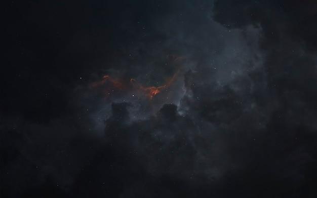 Nevel. sciencefictionbehang, planeten, sterren, melkwegstelsels en nevels in een geweldig kosmisch beeld. elementen van deze afbeelding geleverd door nasa
