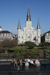 New orleans - saint louis kathedraal, saintlouiscathed