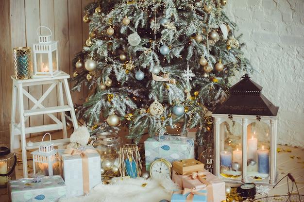 New year christmas decor trend