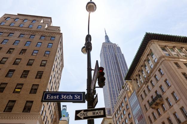 New york city manhattan fifth avenue 5th av us