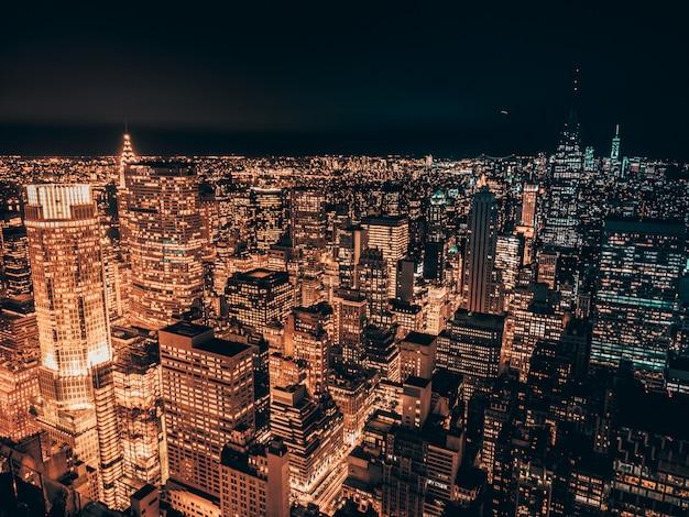 New york in de nacht