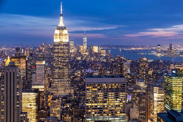New york wolkenkrabbers
