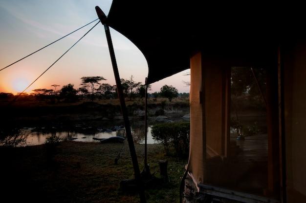 Ngare serian tented camp in kenia
