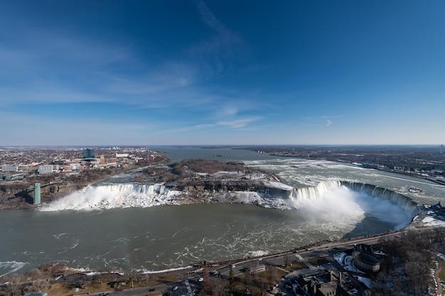 Niagara valt in de winter