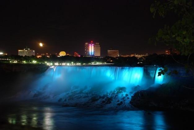 Niagara water rivier usa valt buffel natuur