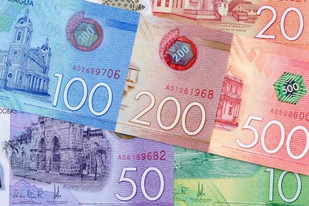 Nicaraguan geld een bedrijfsachtergrond