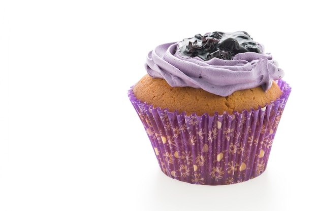 Niemand wit glazuur voedsel cupcake