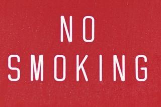 Niet roken verbod