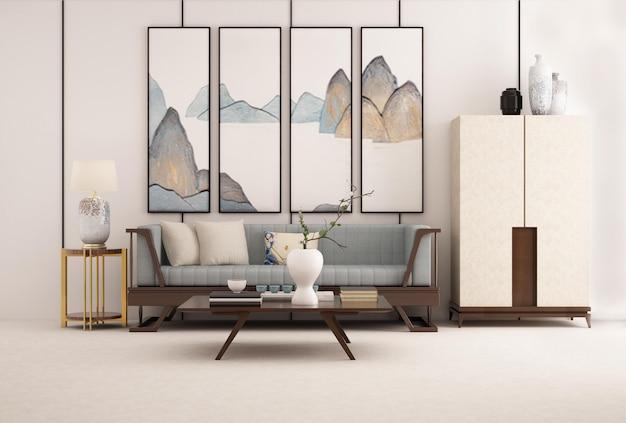 Nieuw eenvoudig binnenmeubilair in chinese stijl