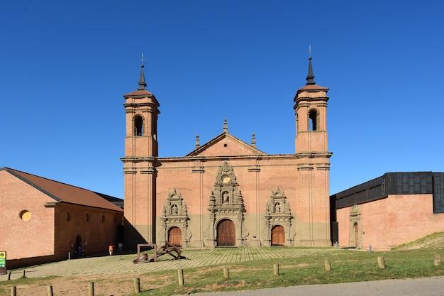 Nieuw klooster van san juan de la pena, provincie huesca, aragon, spanje