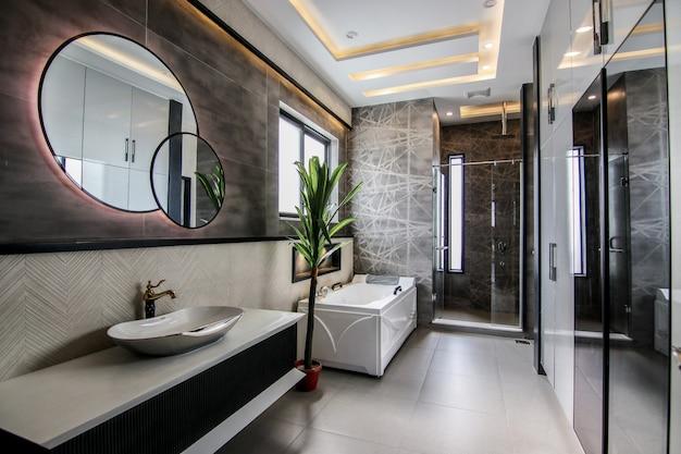 Nieuw modern toilet