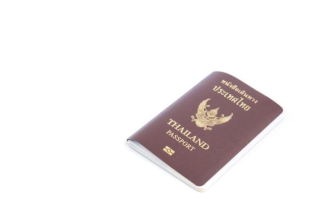 Nieuw paspoort van thailand