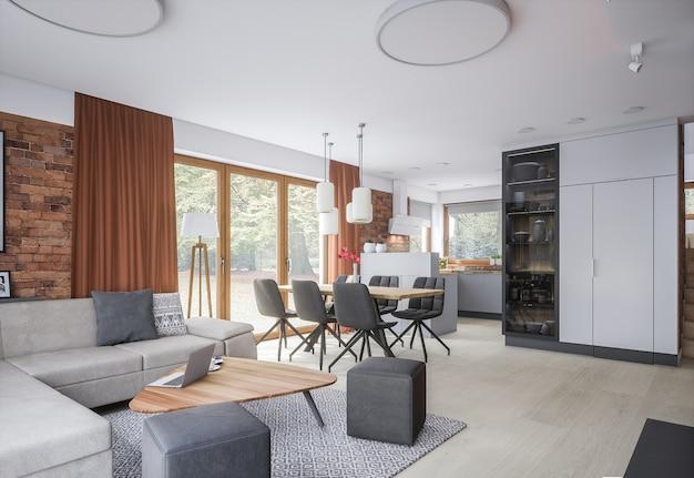 Nieuw stijlvol huis