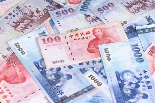 Nieuw taiwanese dollarbankbiljet