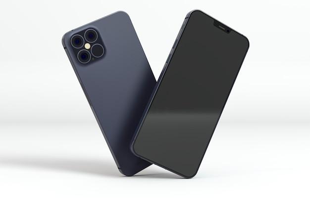 Nieuw telefoonconcept met smartphones