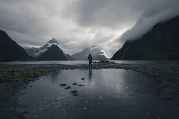 Nieuw-zeeland milford sound