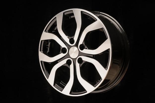 Nieuwe auto lichtmetalen wiel, close-up