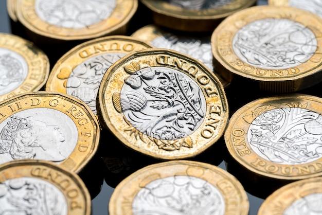 Nieuwe britse pondmunt