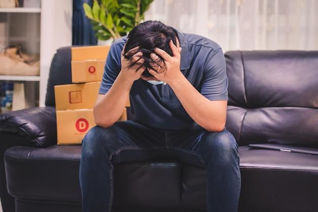 Nieuwe generatie aziatische online verkopers zijn zeer teleurgesteld en teleurgesteld door de dalende verkopen tijdens covid-19.