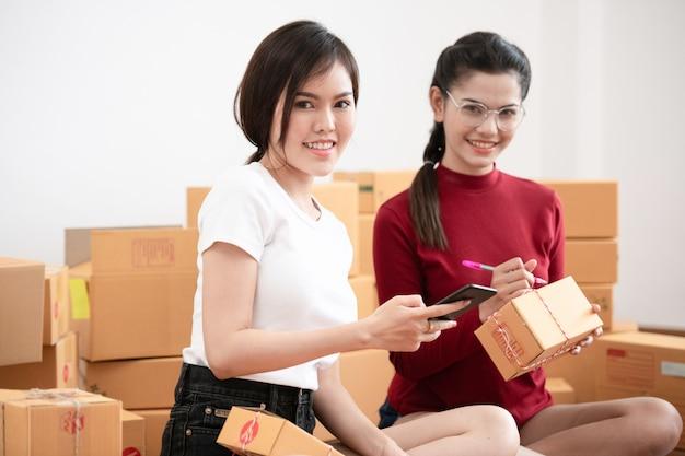 Nieuwe generatie levensstijl van jonge ondernemer