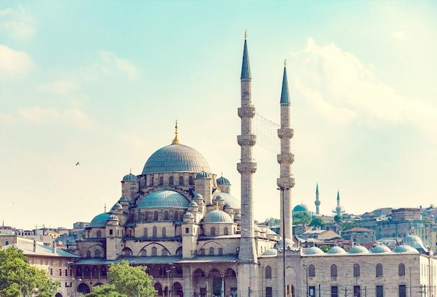 Nieuwe moskee istanboel