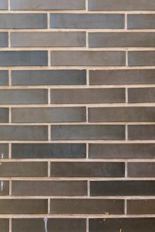 Nieuwe muur met zichtbare baksteen