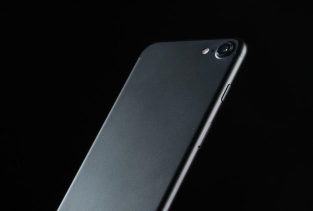 Nieuwe smartphone-presentatie, achteraanzicht, camera aan de achterkant