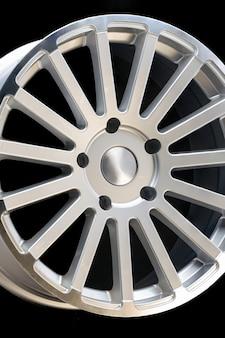 Nieuwe voertuigvelgen van aluminiumlegering, multispaaks zilveren wiel