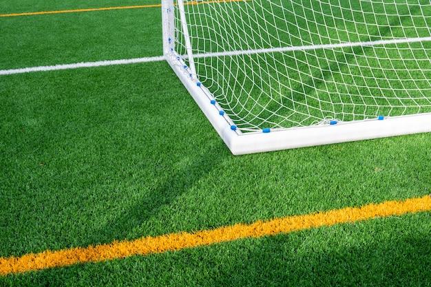 Nieuwe voetbalpoort