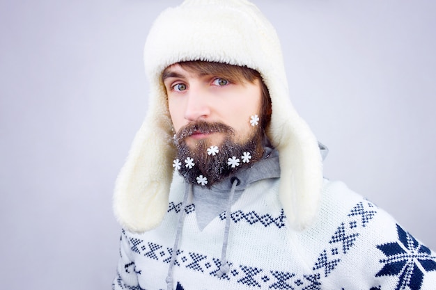 Nieuwjaar baard