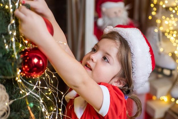 Nieuwjaar en kerstmis kids concept
