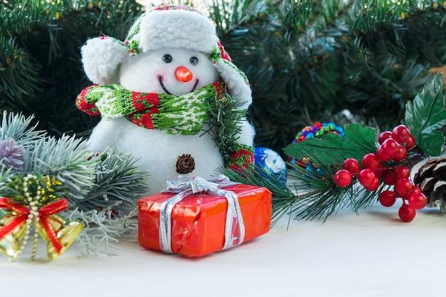 Nieuwjaar en kerstmis speelgoed