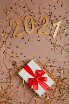 Nieuwjaar met gouden geschenken