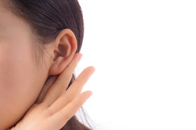 Nieuwsgierig nieuwsgierigheid oor jonge interessant