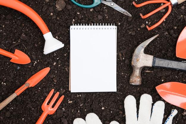 Notebook en hulpmiddelen