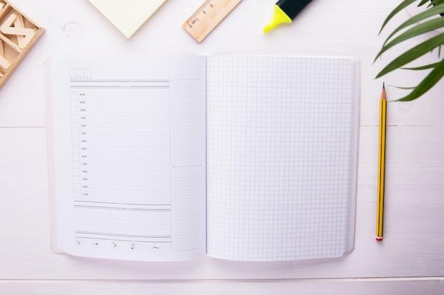 Notebook- en kantoorbenodigdheden openen