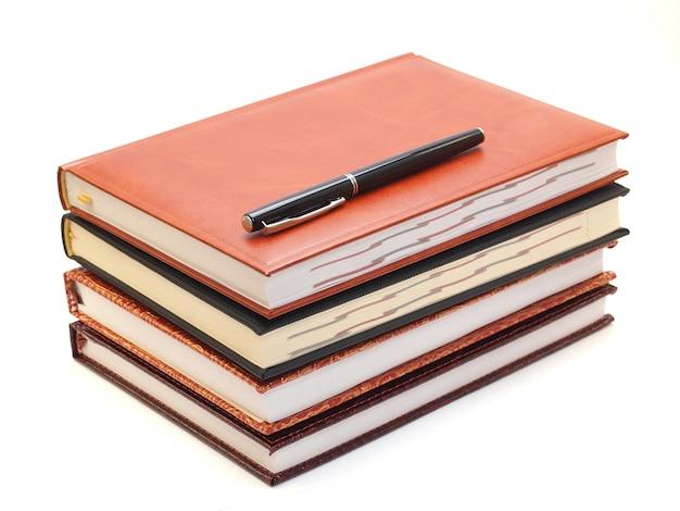 Notebook en pen