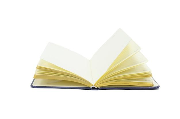 Notebook geïsoleerd