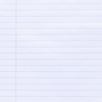 Notebook gelinieerd papier textuur achtergrond