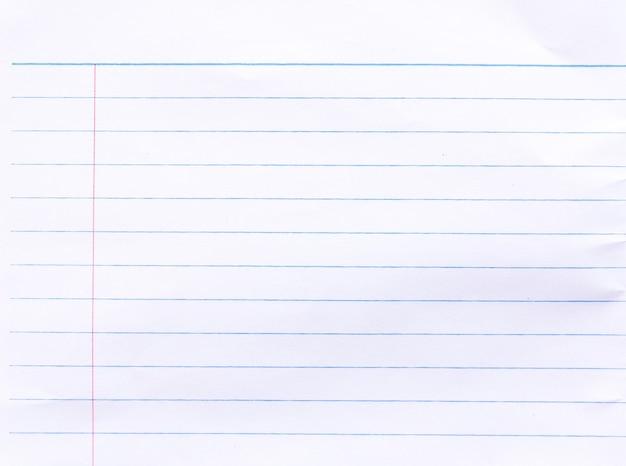 Notebookpapierachtergrond