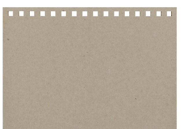 Notitieboekje van grijs stuk