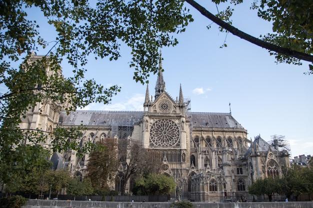 Notre dame de paris cathedral.parijs. frankrijk