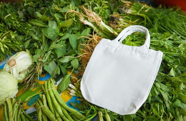 Nul afval gebruikt minder plastic concept