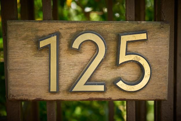Nummer 125