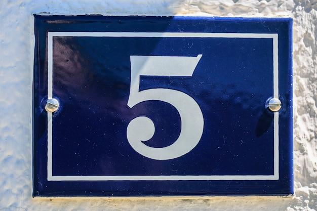 Nummer van huis