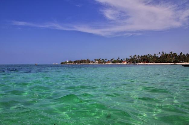 Nungwi is het strand van zanzibar, tanzania